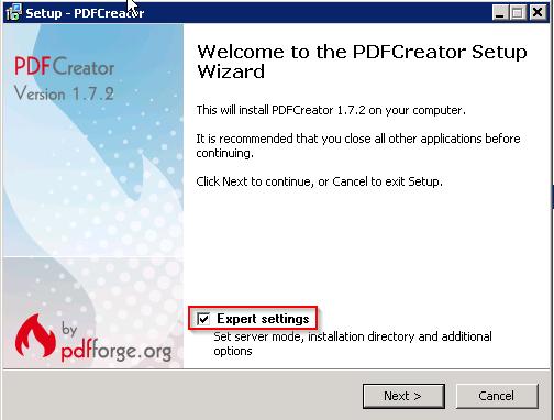version pdf creator